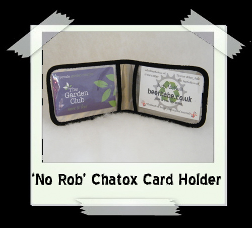 'No Rob' Chatox Race Licence Holder