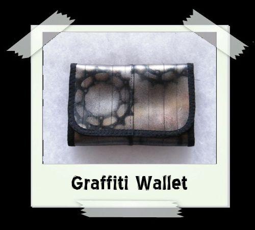 Graffiti Wallet - Bronze