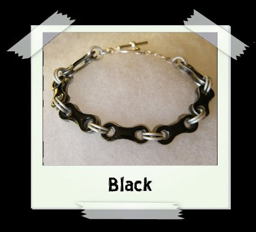 Bicycle Chain Bracelet - Black