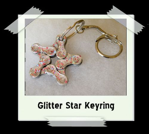 Key Ring - Glitter Star