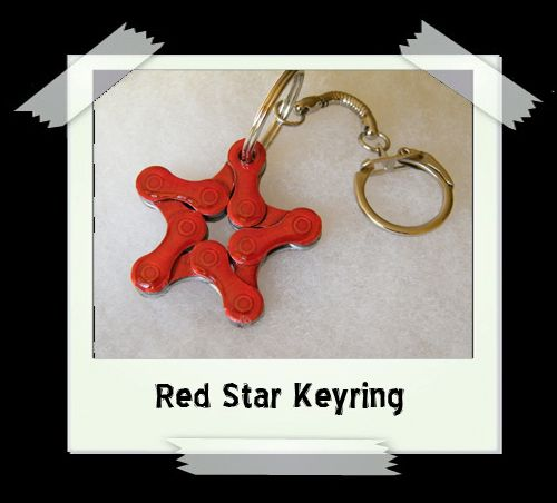 Key Ring - Red Star