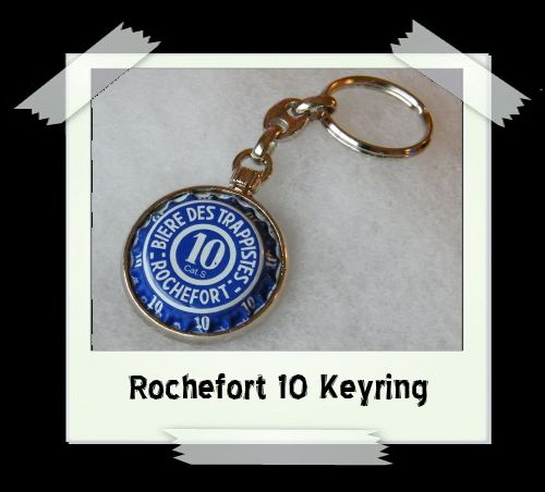 Bottle Cap Key Ring - Rochefort 10