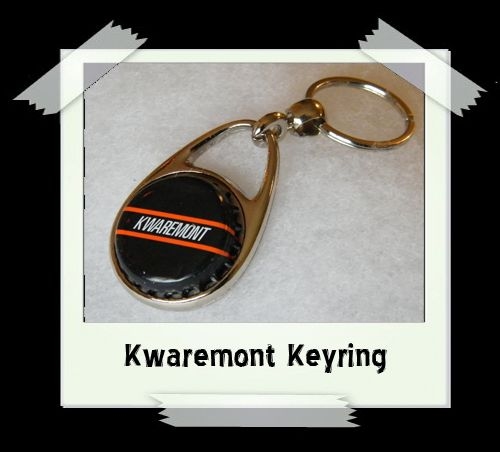 Bottle Cap Key Ring - Kwaremont