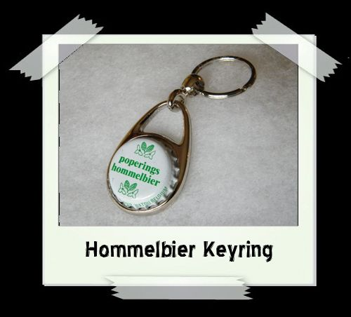 Bottle Cap Key Ring - Hommelbier