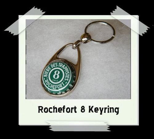 Bottle Cap Key Ring - Rochefort 8