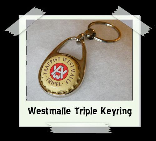 Bottle Cap Key Ring - Westmalle Triple