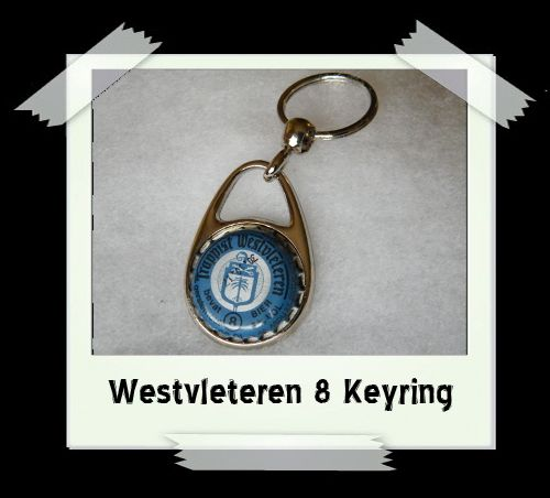Bottle Cap Key Ring - Westvleteren 8