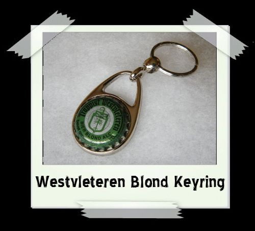 Bottle Cap Key Ring - Westvleteren Blond