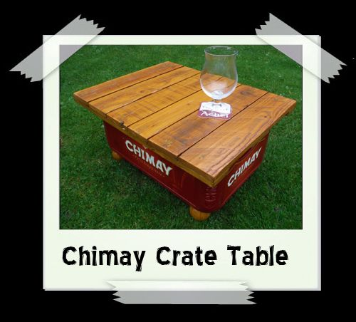 Chimay Crate Table