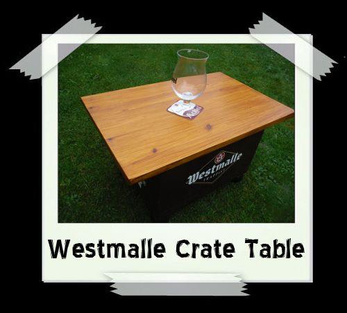 Westmalle Crate Table