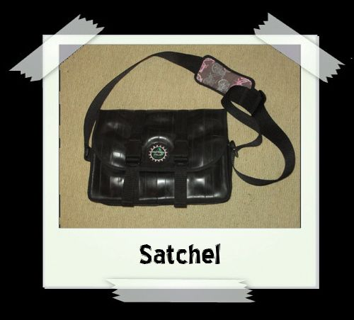 Satchel - Pink Pockets