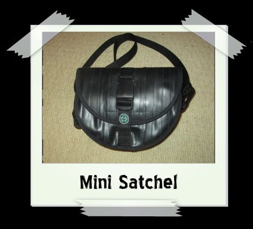 Mini Satchel - Pink Lining