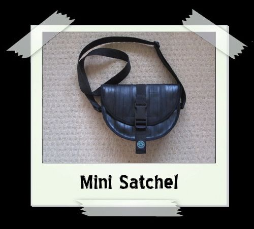 Mini Satchel - Cream Print Lining