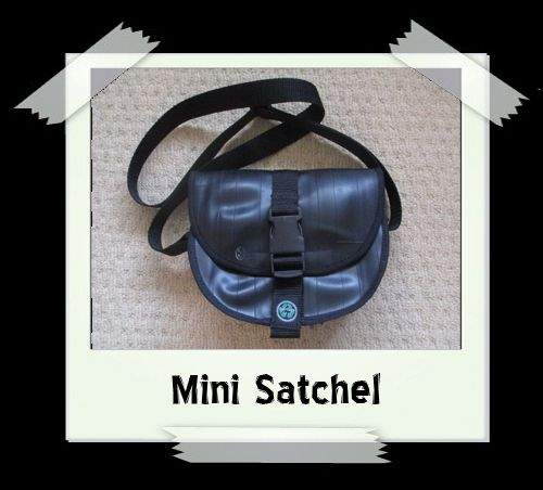 Mini Satchel - Chain Print Lining