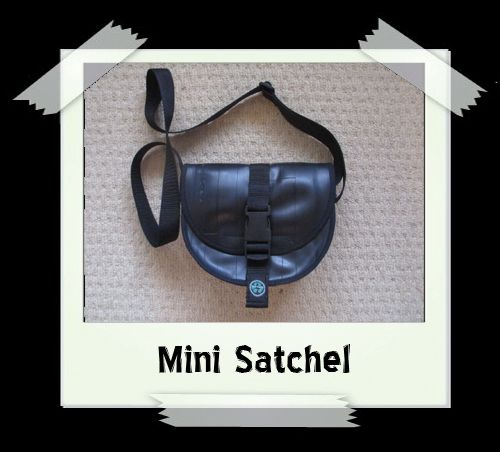Mini Satchel - Gear Print Lining