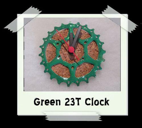 Green 22T Clock