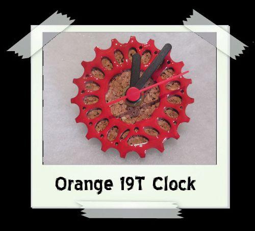 Orange 19T Clock