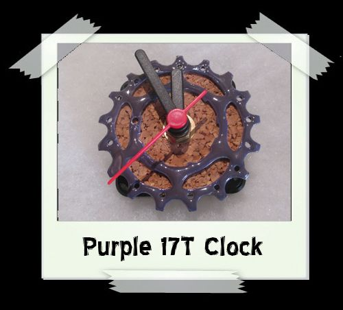 Purple 17T Clock