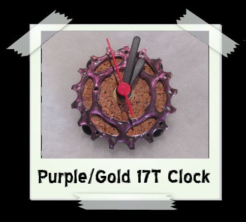 Purple/Gold 17T Clock