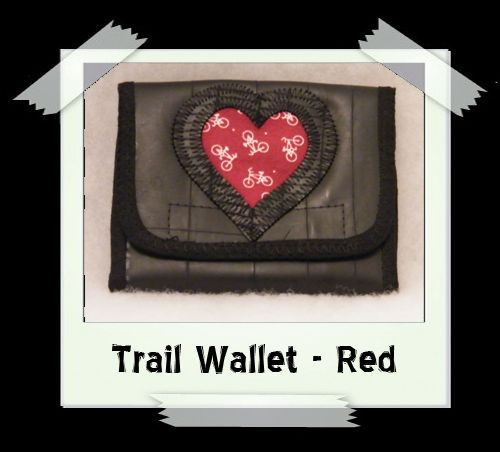 Trail Wallet - Red