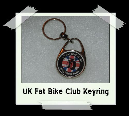 UK Fat Bike Club Key Ring