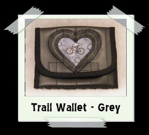 Trail Wallet - Grey