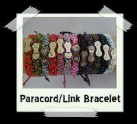 Paracord/Chain Link Bracelets