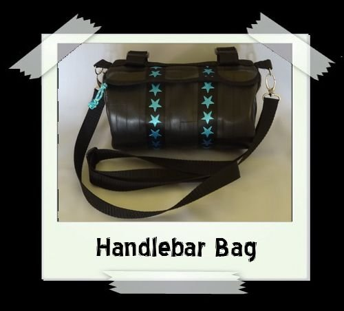 Handlebar Bag (pale blue star)