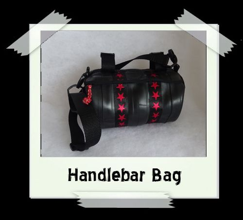 Handlebar Bag (red star)