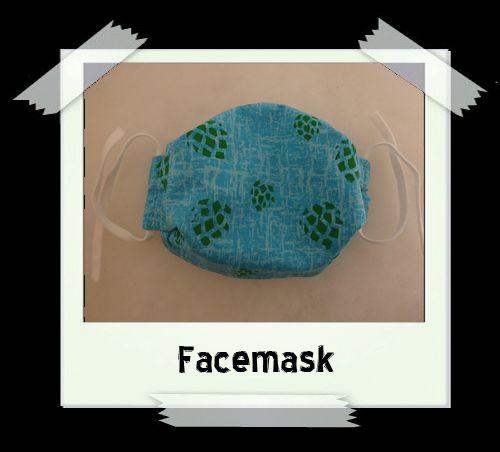 Blue Hops Facemask