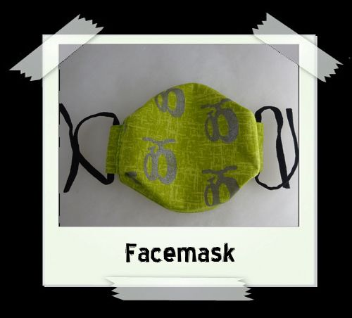 Green Fatbike Facemask