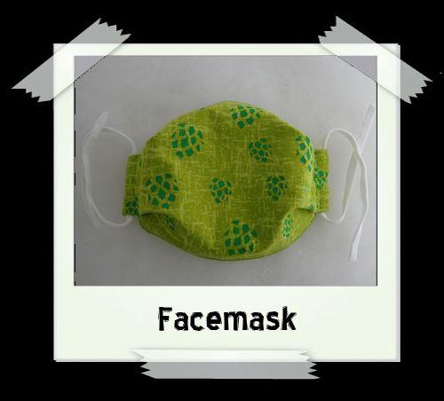 Green Hops Facemask