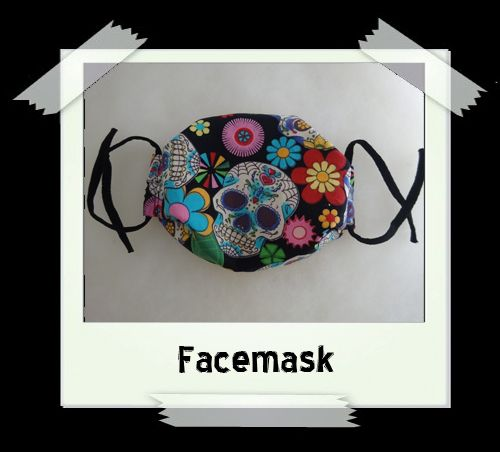 Sugarskull Facemask