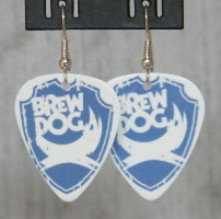 Brewdog Guitar Pick Earring