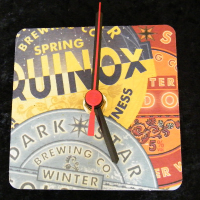 Dark Star Beer Mat Clock BM005