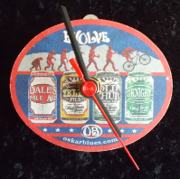 Oskar Blues Beer Mat Clock BM008