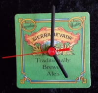 Sierra Nevada Beer Mat Clock BM009