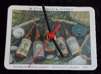 New Belgium 'A Fine Days Catch' Beer Mat Clock BM012