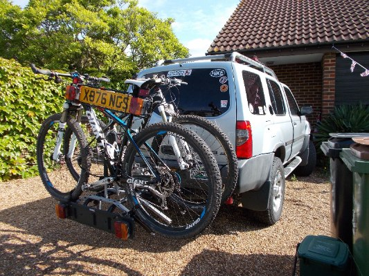 Xterra packed in the sunshine