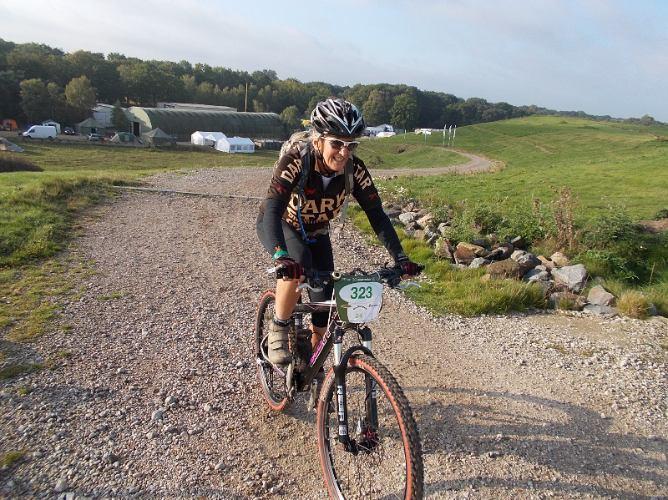 Beerbabe on Gulbergen24 climb