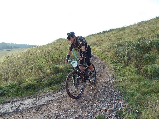 Beerbabe on Gulbergen24 descent
