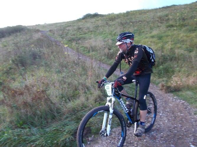 Beerbiker on Gulbergen24 descent