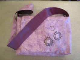 Purple Gear Bag