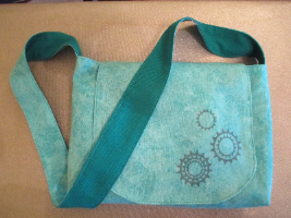 Turquoise Gear Bag