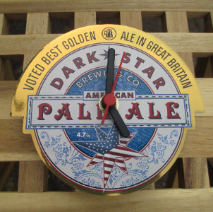 Dark Star American Pale Ale Clock
