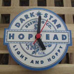 Dark Star Hophead Clock