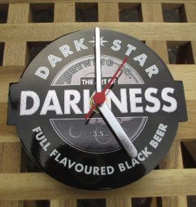Dark Star Art of Darkness Clock