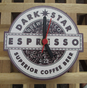Dark Star Espresso Clock