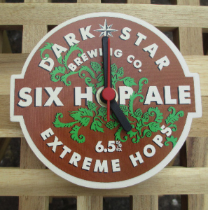 Dark Star Six Hop Ale Clock