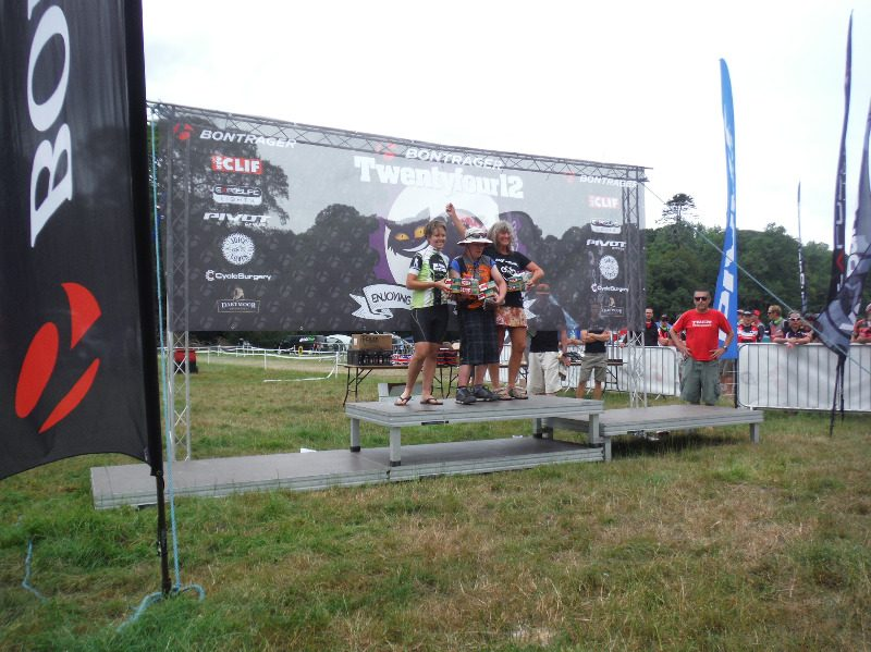 Torchbearer 2014 podium